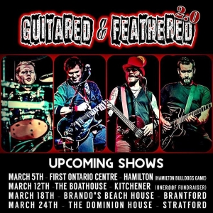 Guitared and Feathered