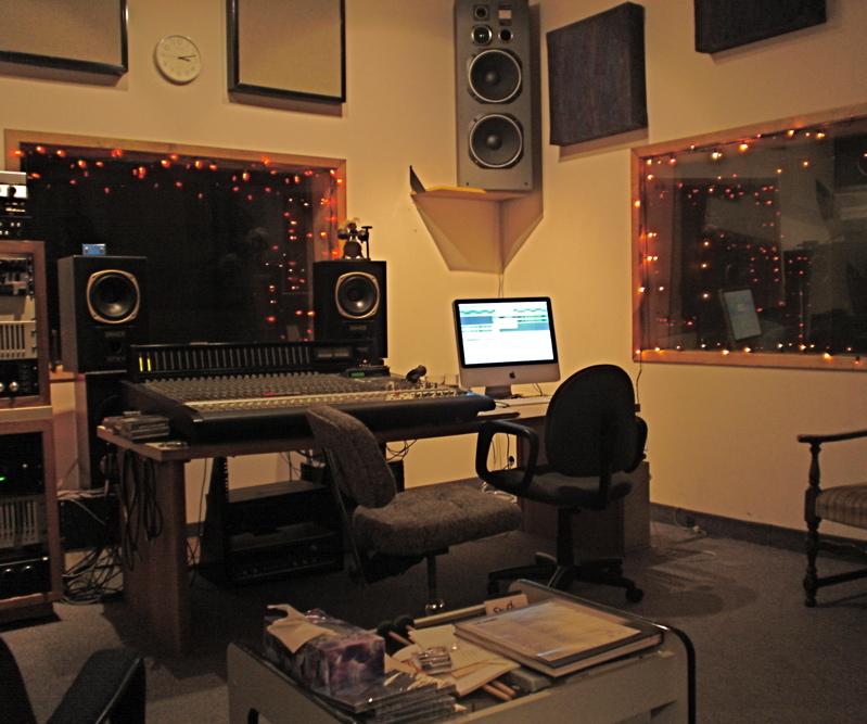 Chris' domain. Studio A, Kitchener recording studio
